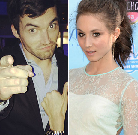 Pretty Little Liars' Troian Bellisario and Ian Harding Get in a Fight on Twitter — Why?