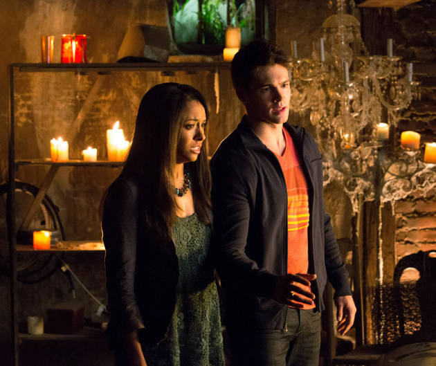 """Vampire Diaries Season 5: Kat Graham Dishes on """"Intimate"""" Relationship With Jeremy"""
