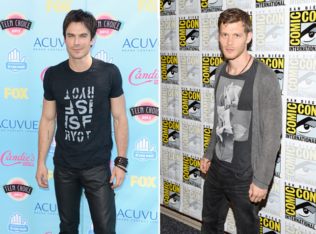 The Vampire Diaries' Ian Somerhalder vs. Joseph Morgan: Whose Casual Look Is Hotter? (PHOTOS)