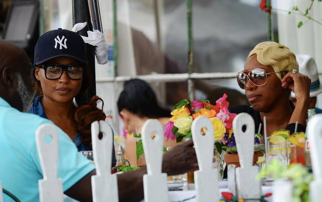 NeNe Leakes and Cynthia Bailey Go on a Double Date
