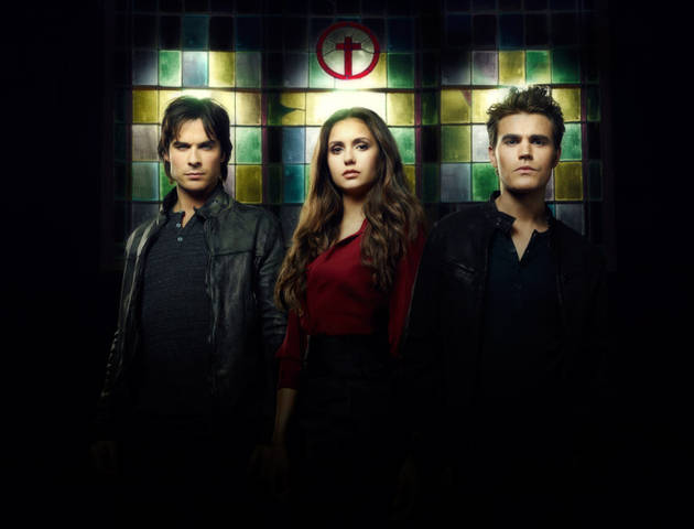 Vampire Diaries Season 4 Bloopers Video: Silly Dancing and Feeding Malfunctions (VIDEO)