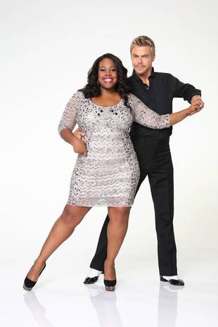Dancing With the Stars 2013: Amber Riley Paired With 4-Time Winner Derek Hough