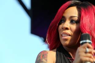 Love & Hip Hop's K. Michelle Debuts Black Hair Color — See Her Dramatic Transformation! (PHOTO)