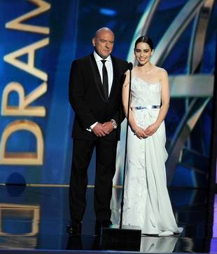 Emilia Clarke at 2013 Emmys: Game of Thrones Star in DKNY— Hot or Not? (PHOTO)