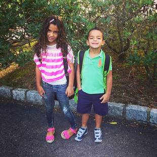 Melissa Gorga's Children Are Nervous For First Day in a New School (PHOTO)