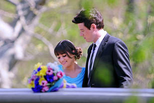 Lea Michele as Glee's Rachel in Central Park: Then and Now — Sad Changes!