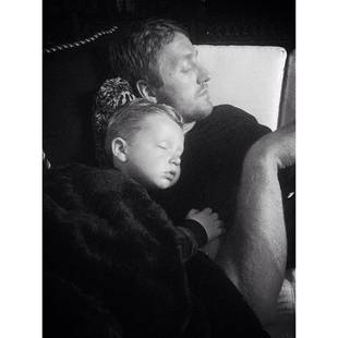 Kroy Biermann and Son KJ Bond in Adorable Picture (PHOTO)