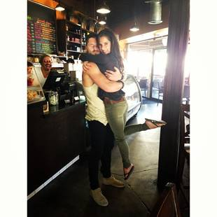 Val Chmerkovskiy and Kelly Monaco Reunite With Sweet Embrace — See the Cute Pic!