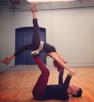 Snooki Does Crazy Acrobatics With Dancing With the Stars Partner Sasha Farber (PHOTO)