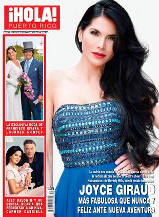 Beverly Hills Housewife Joyce Giraud Stuns on the Cover of ¡HOLA! Puerto Rico (PHOTO)