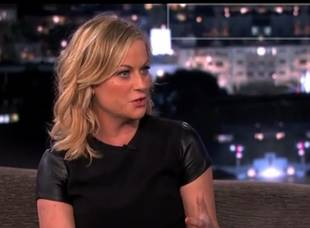 Amy Poehler Cracks Us Up Talking About Her Sons on 'Jimmy Kimmel Live' (VIDEO)