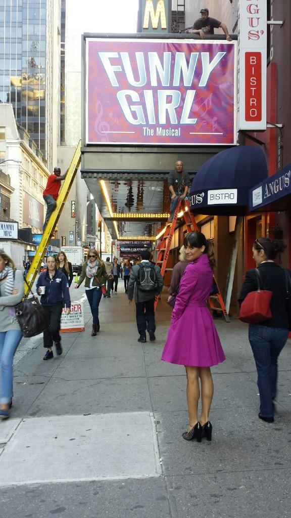 Glee Season 5: Is Rachel Starring in Broadway's Funny Girl? (PHOTO) — Update
