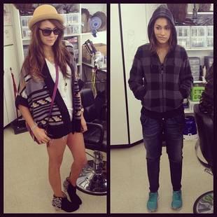 Janina Gavankar Compares Outfits With Nina Dobrev on The Vampire Diaries Set (PHOTO)