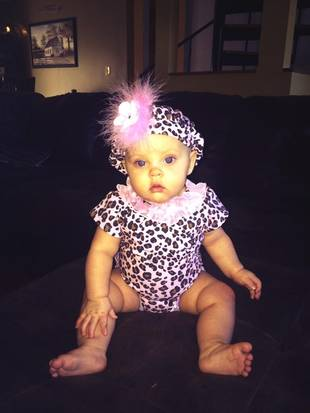 Leah Messer's Daughter Adalynn Is a Big Girl Now — See How Much She's Grown! (PHOTO)
