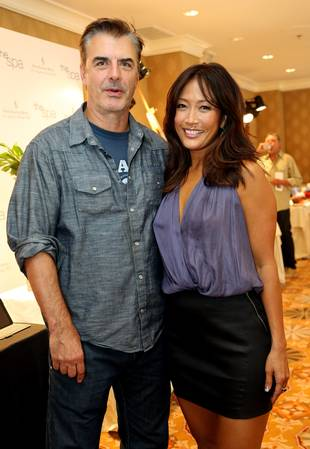 "Dancing With the Stars' Carrie Ann Inaba ""Star Struck"" by Crush Chris Noth (PHOTO)"