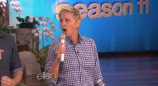 """Ellen's Rendition of Ylvis's """"The Fox"""" Is Our Everything (VIDEO)"""