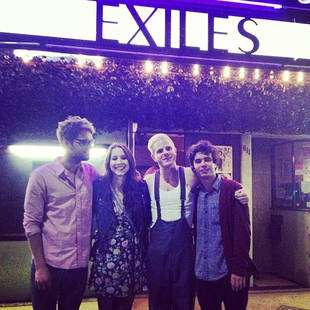 Pretty Little Liars' Troian Bellisario Celebrates Exiles Premiere With Shane Coffey! (PHOTO)