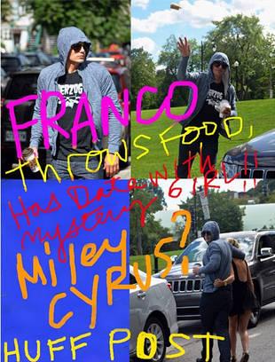 James Franco Throws Shade at Gossip Sites With Miley Cyrus, Lindsay Lohan Pics
