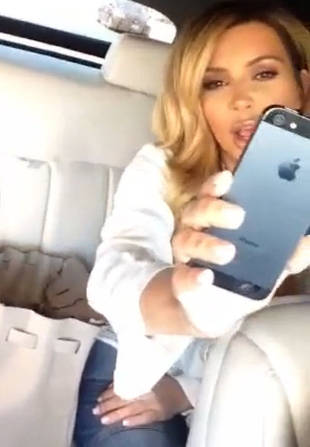Kim Kardashian Comes Out of Hiding With Video Selfie!
