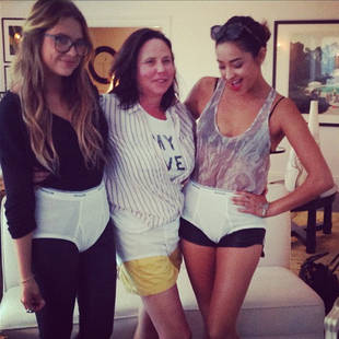 Pretty Little Liars' Ashley Benson and Shay Mitchell Rock Walter White's Tighty Whities (PHOTO)