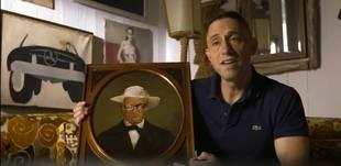 "Jonathan Adler Defaces Artwork for ""Inspiration Point"" (VIDEO)"