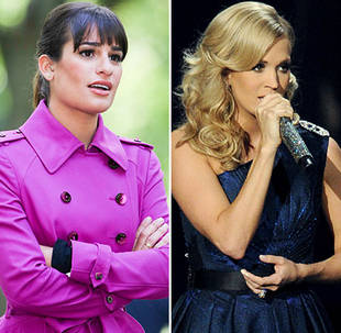 "Glee's Lea Michele vs. Carrie Underwood at the 2013 Emmys: Whose ""Yesterday"" Is Best?"