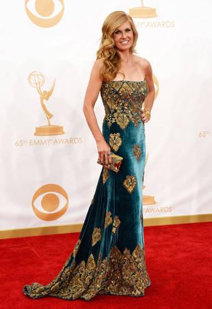 "Connie Britton at 2013 Emmys: Nashville Star Wears ""Ottoman Empire""-Inspired Dress — Exclusive (PHOTO)"