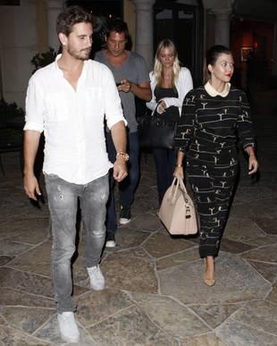 Kourtney Kardashian and Scott Disick Double Date With… Joe Francis?! (PHOTO)