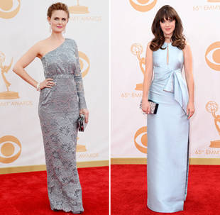 Zooey Deschanel vs. Emily Deschanel: Which Sister's Style Was Best at the 2013 Emmys? (PHOTO)