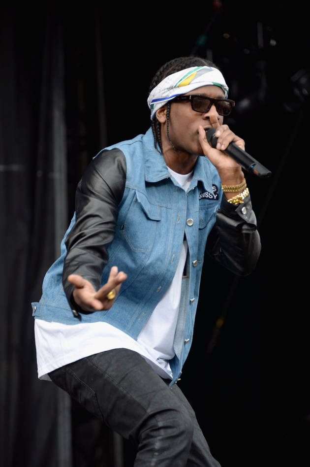 Rapper A$AP Rocky Charged With Assaulting Female Fan: Report