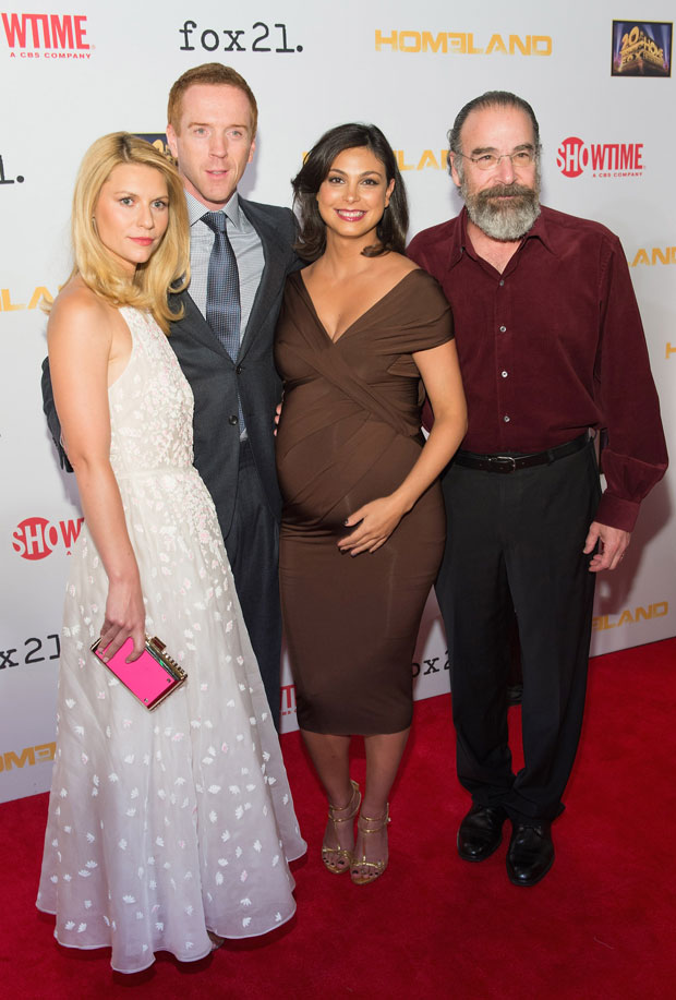 Very Pregnant Morena Baccarin May Go Into Labor at 2013 Emmys!