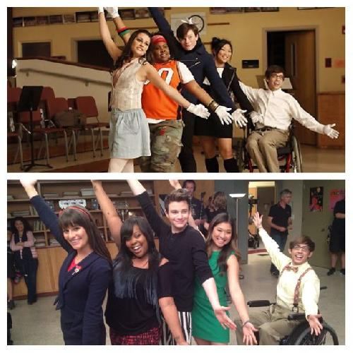 Happy Fifth Anniversary, Glee! Stars Celebrate Five Years With Show