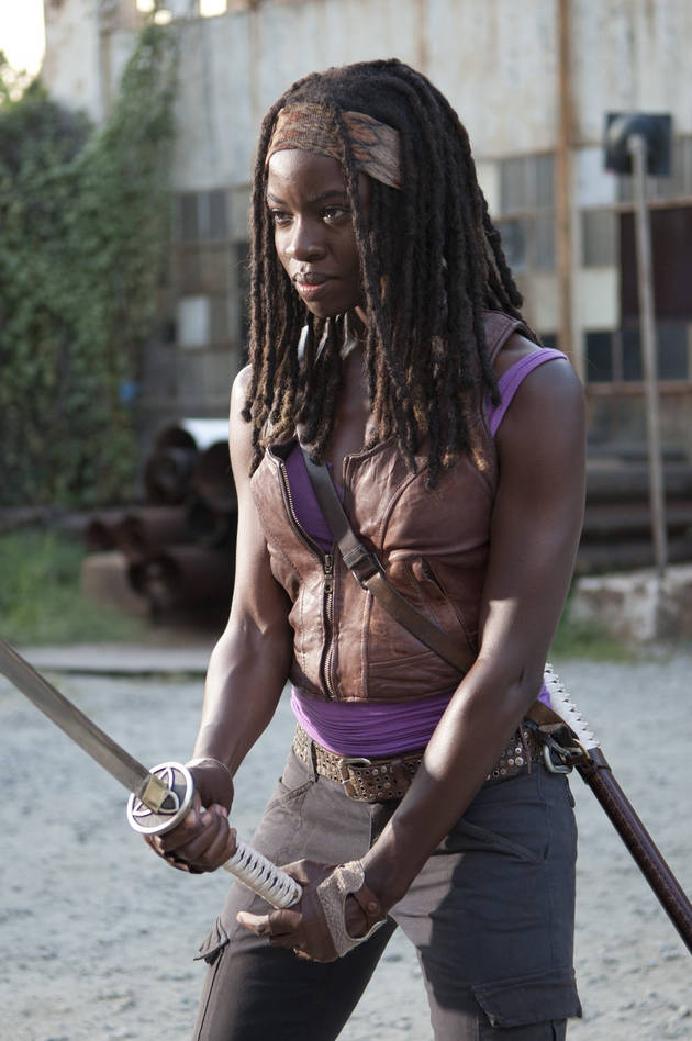 The Walking Dead Season 4: All About Michonne's New Horse