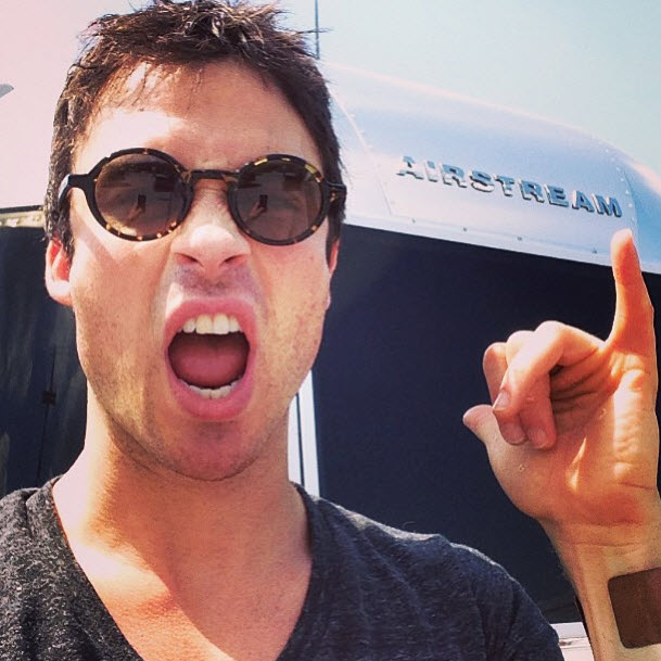 "Vampire Diaries Star Ian Somerhalder Admits ""I'm a Geek"" — What Is He Talking About?"