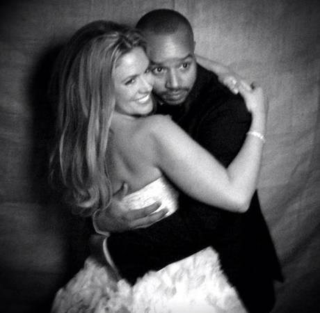 Donald Faison, CaCee Cobb Reveal First Pic of Baby Son Rocco! (PHOTO)