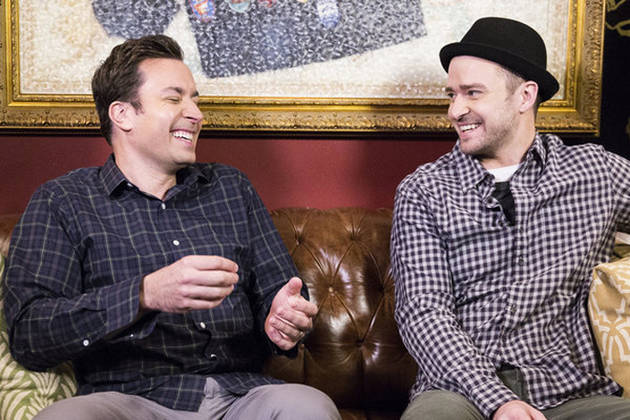 Justin Timberlake and Jimmy Fallon Talk Only in Hashtags in New Sketch — #Hilarious