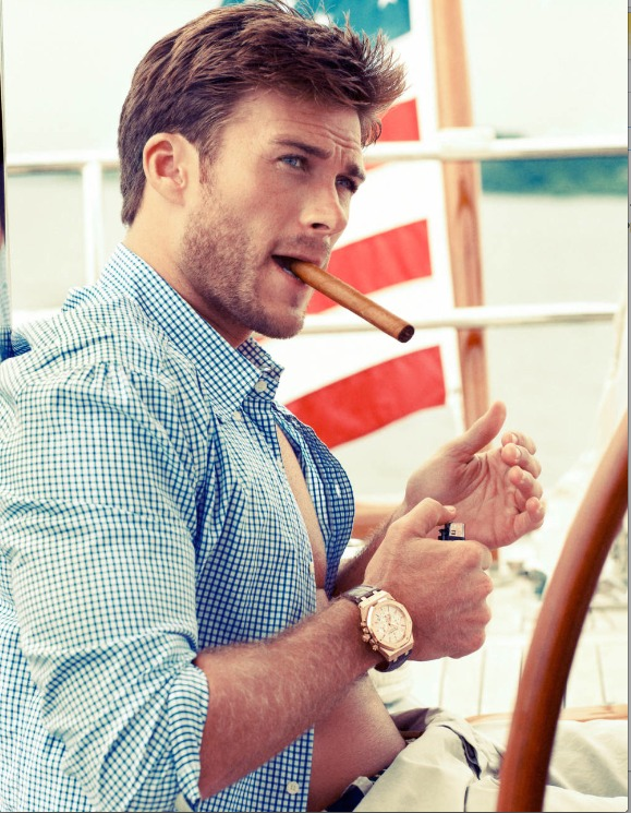 Clint Eastwood's Sexy Son Scott is Breaking Into Acting, and It's About Time! (PHOTO)