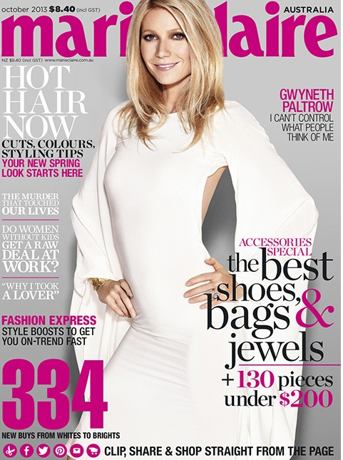 """Gwyneth Paltrow on Raising Her Kids: """"The Problems Are Getting More Serious"""""""