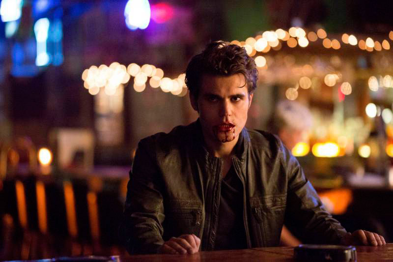 Vampire Diaries Season 5 Speculation: Is Stefan or Silas Covered With Blood? (PHOTO)
