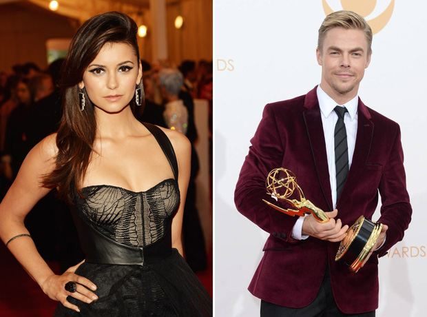 Nina Dobrev and Derek Hough Stay Silent on Twitter About Dating Rumors
