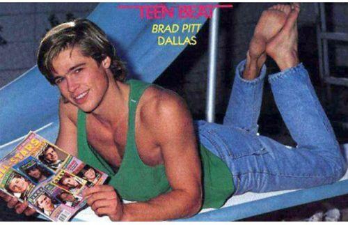Teen Beat Tuesday: Brad Pitt
