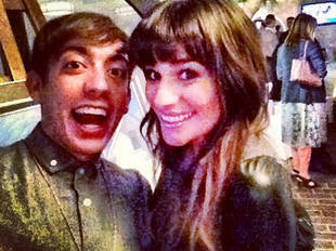 """Glee Star Sings Along to Lea Michele's """"Cannonball"""" — Cute Video!"""