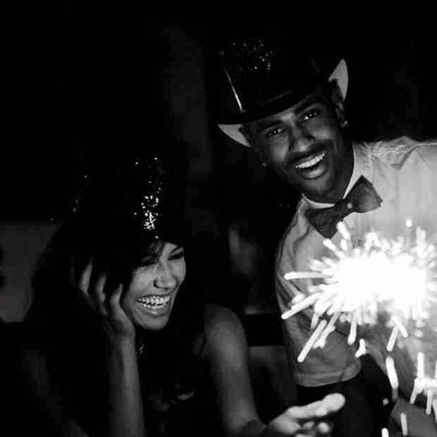 Glee Stars Celebrate New Years 2014: Lea Michele, Naya Rivera and More!