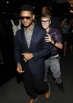 Usher's Intervention With Justin Bieber Was a Surprise — Report