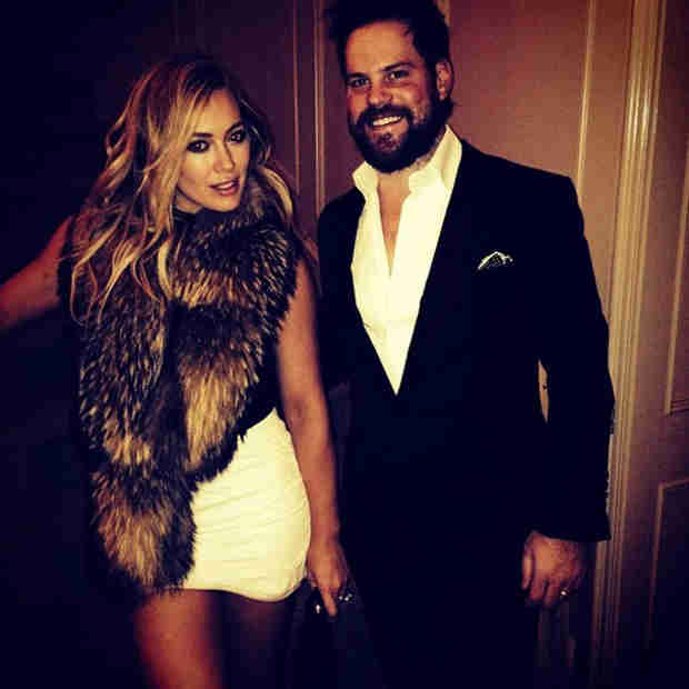 Hilary Duff: Luca's Mom Looks Ultra-Sexy in New Year's Eve Miniskirt