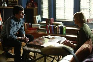 Pretty Little Liars Burning Question: Was Ezra Really Meeting With Maggie's Lawyer?