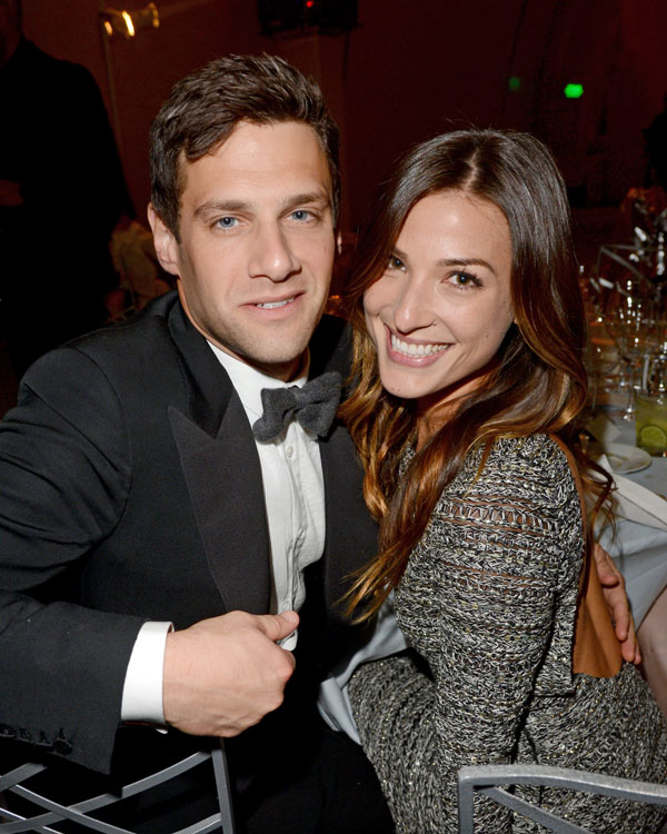 Newlyweds Justin Bartha and Lia Smith Expecting a Baby