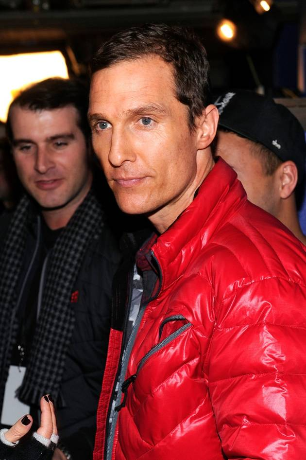 Matthew McConaughey Wins 2014 Achievement Award at Palm Springs Film Festival