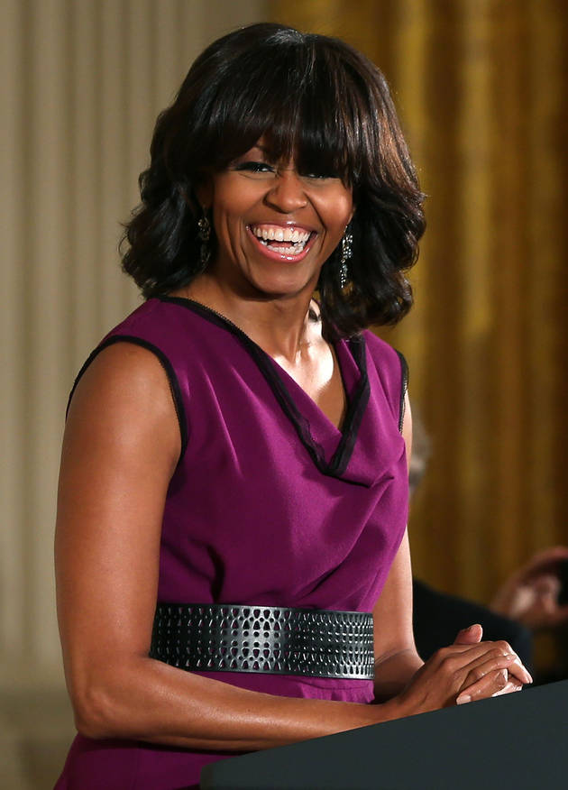 "Michelle Obama Says ""Never Say Never"" To Plastic Surgery"