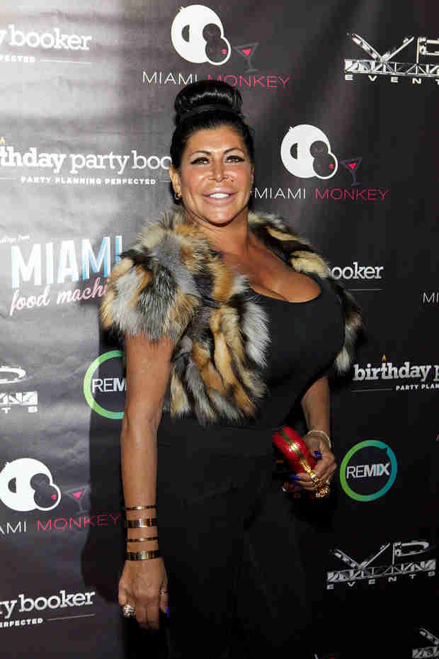 "Mob Wives' Big Ang Talks About Going Through ""The Change"" (VIDEO)"